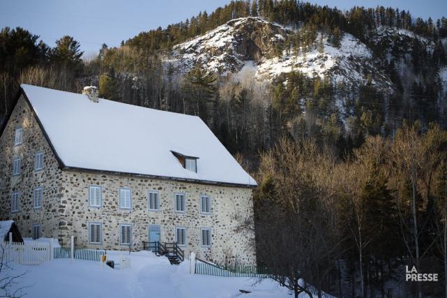 Le moulin de la Rémy, situé tout près,... (Photo Sira Chayer, La Presse)