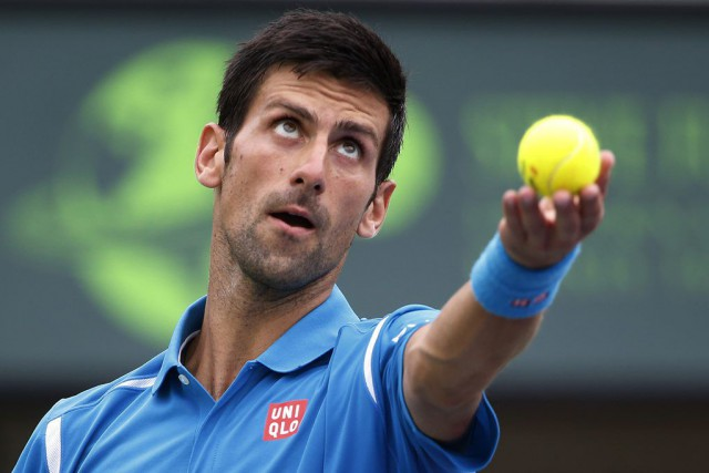 Novak Djokovic... (PHOTO GEOFF BURKE, ARCHIVES USA TODAY)