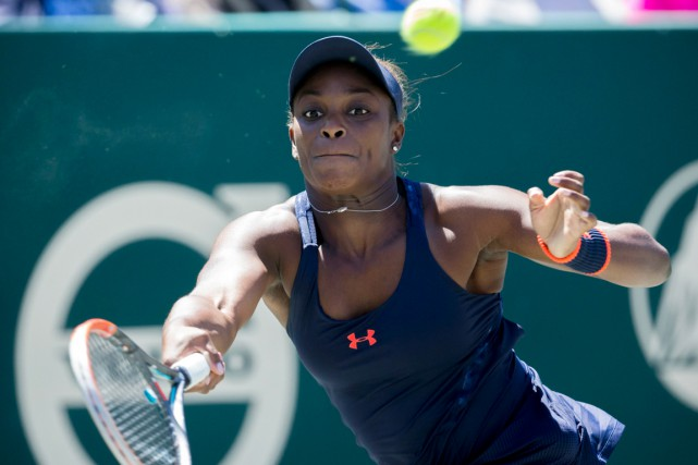 Sloane Stephens... (PHOTO STEPHEN B. MORTON, AP)