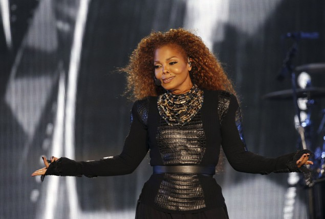 Janet Jackson... (AFP, Karim Sahib)