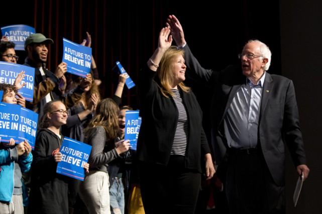 Bernie Sanders veut capitaliser sur l'élan que lui... (PHOTO AP)