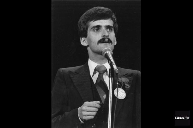 Jean Lapierre en 1979... (archives La Voix de l'Est)