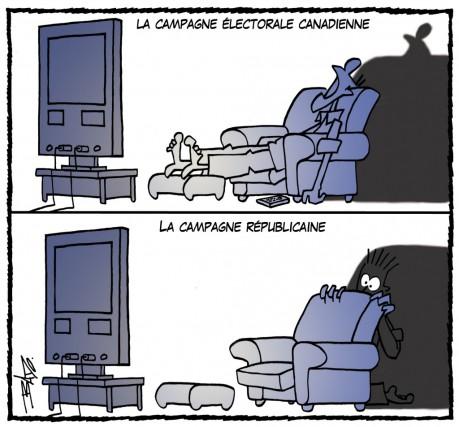 La caricature du jour (en reprise)... (Bado)