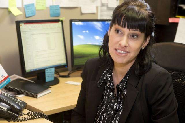 Christine Dargis est la nouvelle directrice générale de... (Stéphane Lessard)