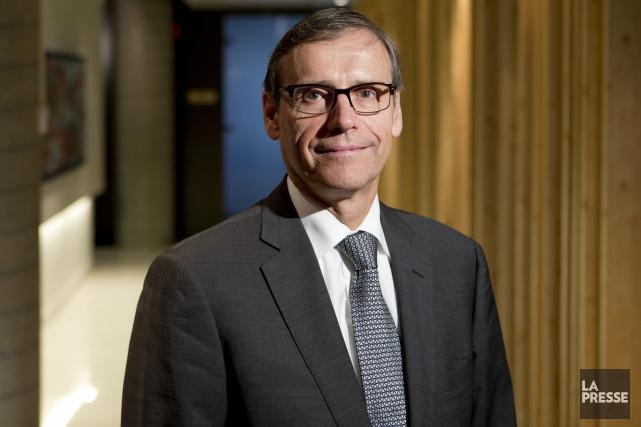 Richard Garneau, président de Produits forestiers Résolu... (Archives La Presse)