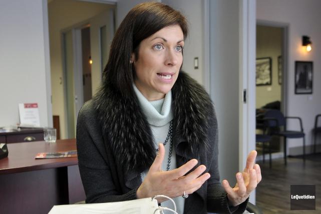 La députée néo-démocrate de Jonquière, Karine Trudel... (Archives Le Quotidien)