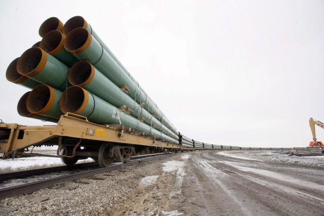Plus de 63 000 litres de pétrole se... (Archives AP)