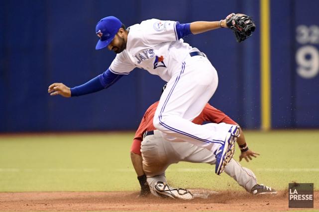Les Blue Jays de Toronto ont évité un... (Bernard Brault, archives La Presse)