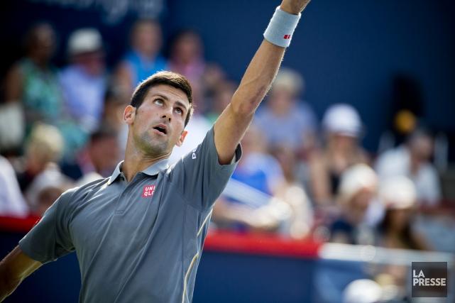 Djokovic amorce sa quête dans le but de... (archives La Presse)