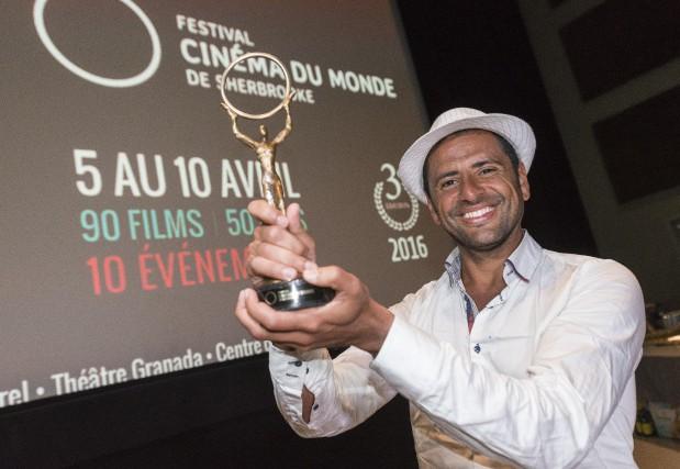 Fabio Dorea, réalisateur estrien d'origine brésilienne, a remporté... (Spectre média, Frédéric Côté)