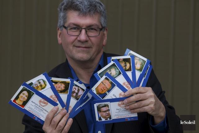 Des milliers de cartes «de collection» seront mises... (Le Soleil, Caroline Grégoire)
