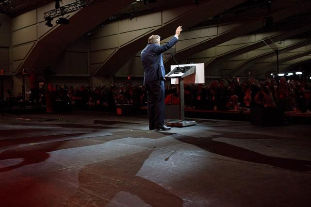 Les délégués présents au Congrès du NPD ont... (Photo Jason Franson, PC)
