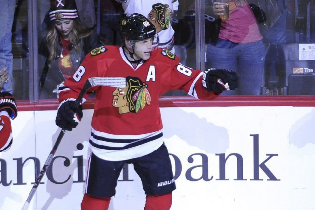 Patrick Kane... (PHOTO DAVID BANKS, ARCHIVES AP)