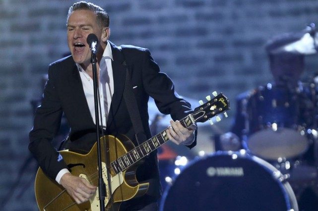 Bryan Adams a offert une prestation lors des... (PHOTO ARCHIVES REUTERS)
