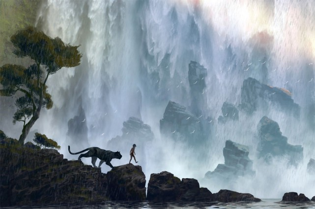 The Jungle Book, film d'animation qui revisite les célèbres nouvelles... (PHOTO FOURNIE PAR DISNEY)