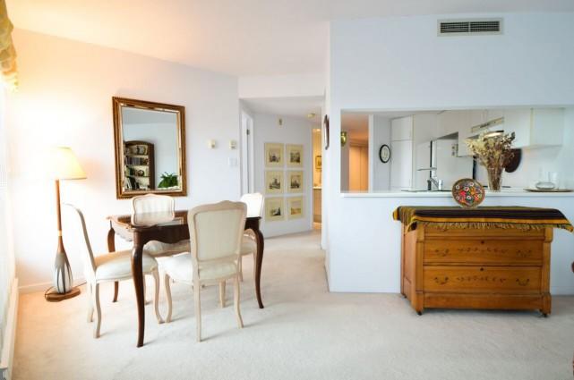 Appartement dans l'arrondissement Mercier-Hochelaga Maisonneuve (secteur Mercier), à... (PHOTO FOURNIE PAR LE COURTIER)