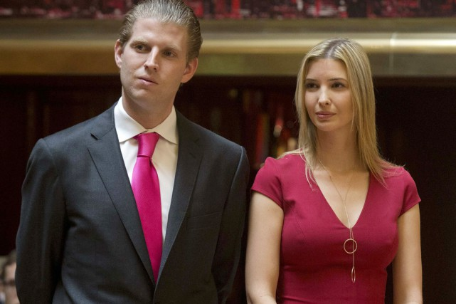Ivanka, 34 ans, et Eric, 32 ans, «n'étaient... (PHOTO BRENDAN MCDERMID, ARCHIVES REUTERS)