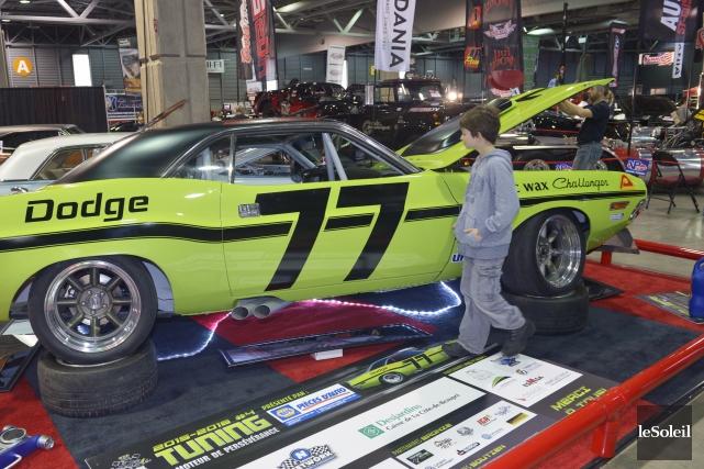La Dodge Challenger T/A 1970... (Le Soleil, Jean-Marie Villeneuve)