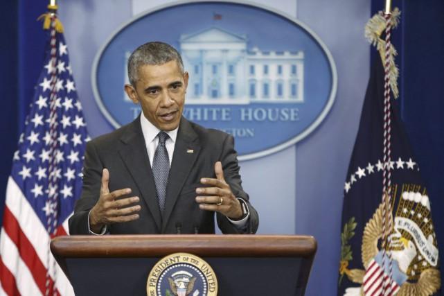 Barack Obama a reçu lundi la présidente de la Réserve fédérale américaine Janet... (Photo Reuters)