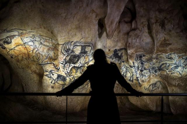 Découverte en décembre 1994, la grotte de Chauvet-Pont... (PHOTO AFP)