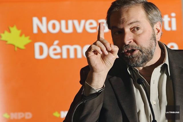 ÉDITORIAL / Le Nouveau parti démocratique (NPD) est-il aussi sévère avec ses... (Archives, La Tribune)