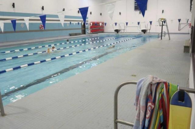 La piscine intérieure du complexe sportif Champagnat est... (Courtoisie)