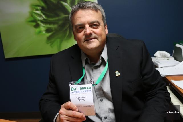 Patrice Bergeron, président de BELT et directeur du... (Audrey Tremblay, Le Nouvelliste)