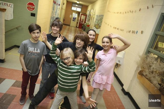 Une équipe de l'école de Sutton se rendra... (Julie Catudal, La Voix de l'Est)