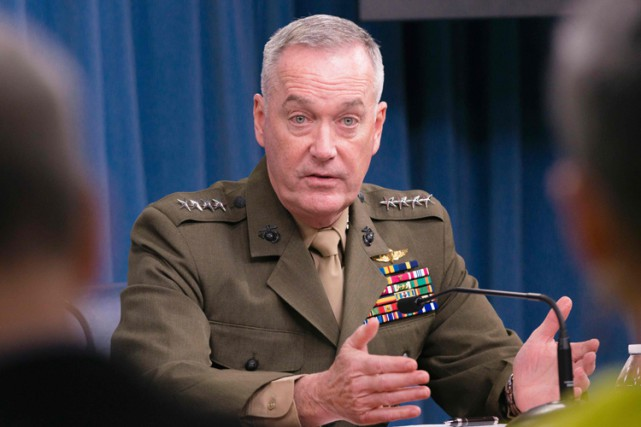 Le général Joe Dunford.... (PHOTO AFP)
