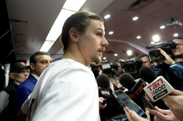 Erik Karlsson est confiant de voir l'équipe retourner... (Justin Tang)