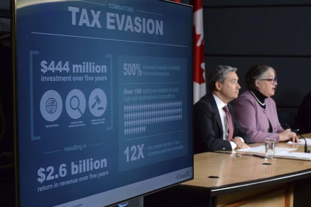 La ministre du Revenu national, Diane Lebouthillier, adétaillé... (La Presse Canadienne, Sean Kilpatrick)
