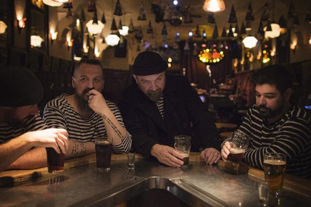 WD-40 lancera son nouvel album durant l'évènement.... (Photo courtoisie, Patrick Mainville)