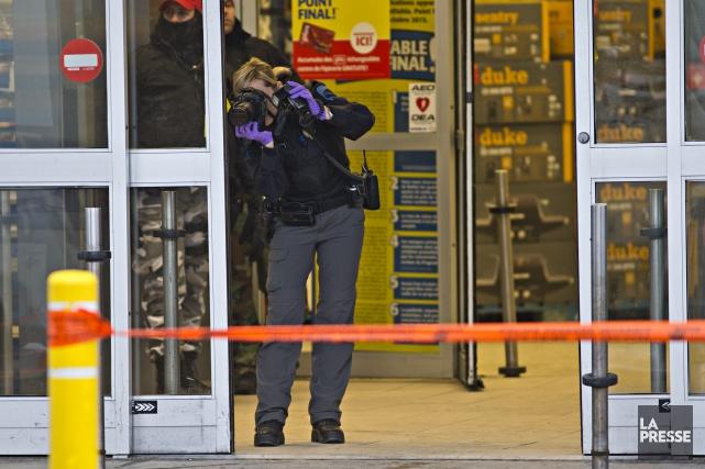 Une employée d'un Maxi de Montréal a été... (Patrick Sanfaçon, La Presse)