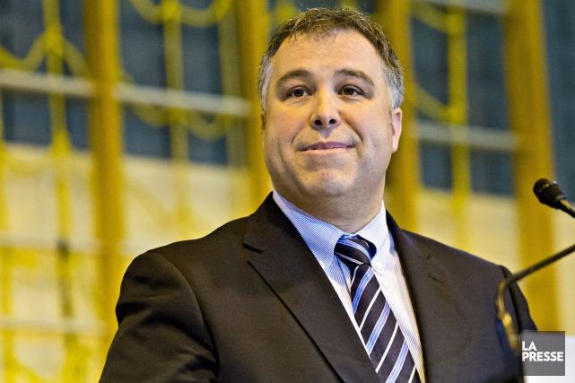 Le ministre de l'Éducation,Sébastien Proulx... (La Presse, Patrick Sanfaçon)