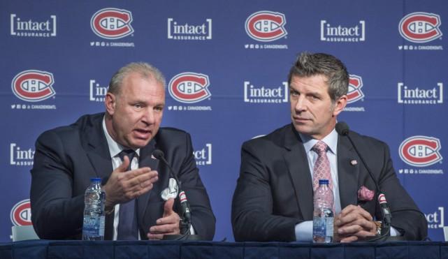 Michel Therrien et Marc Bergevin seront de retour... (Paul Chiasson, La Presse Canadienne)