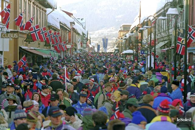 Lillehammer, en Norvège, a accueilli les Jeux olympiques... (Photothèque Le Soleil)
