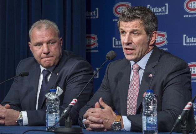 L'entraîneur-chef Michel Therrien a été reconfirmé dans ses... (La Presse Canadienne, Paul Chiasson)