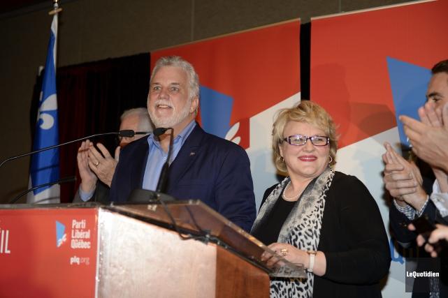 Francyne T. Gobeil candidate libérale à l'élection partielle... (Photo Le Quotidien, Jeannot Lévesque)