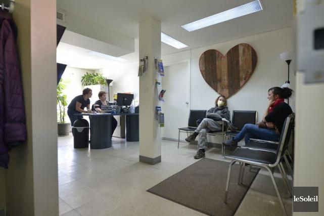 Ouverte en 2014, la clinique SABSA de Québec... (PHOTO LE SOLEIL)