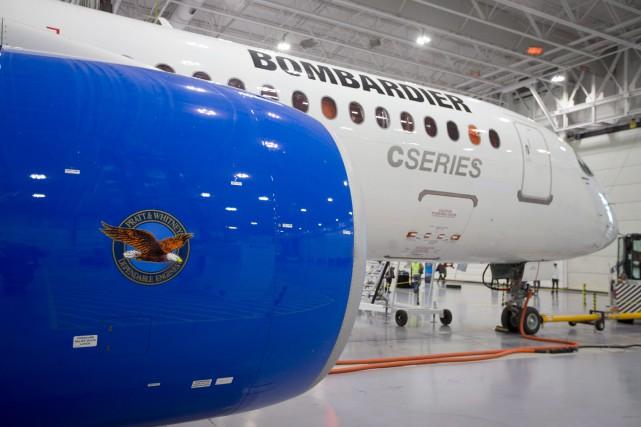 Bombardier précise qu'Air Baltic deviendra le premier client... (Photo archives Reuters)