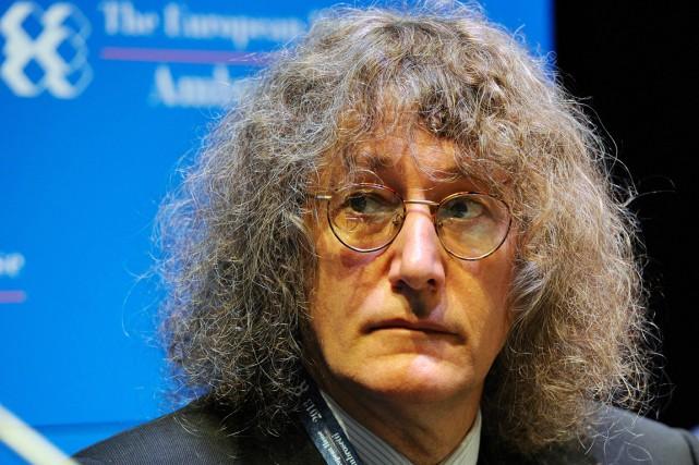 Gianroberto Casaleggio, surnommé «le gourou», était considéré par... (PHOTO GIUSEPPE ARESU, ARCHIVES AFP)