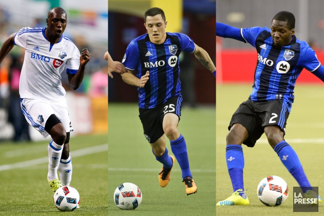 Hassoun Camara, Donny Toia et Ambroise Oyongo... (Photos USA Today et La Presse)