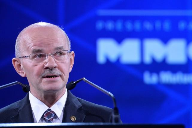 Richard Lehoux, président de la Fédération québécoise des... (Photo Pascal Ratthé, archives Le Soleil)