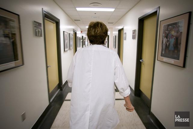 Les médecins se plaignaient de ne pas avoir... (PHOTO ANDRÉ TREMBLAY, ARCHIVES LA PRESSE)