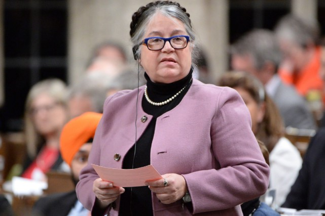 la ministre du Revenu national, Diane Lebouthillier.... (PHOTO ARCHIVES LA PRESSE CANADIENNE)