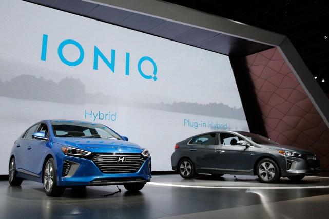 Hyundai espère procéder au lancement de 26 modèles... (PHOTO BRENDAN McDERMID, REUTERS)