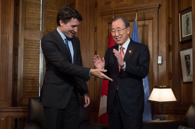 Justin Trudeau a récemment dit convoiter un siège... (PHOTO ADRIAN WYLD, ARCHIVES LA PRESSE CANADIENNE)