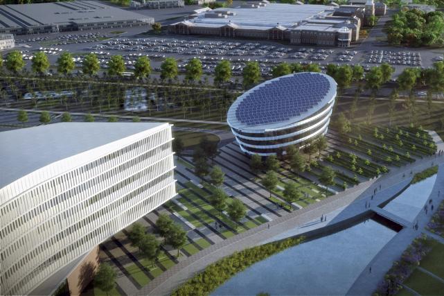 Les deux campus à l'architecture ultra moderne de... (Photo Reuters)