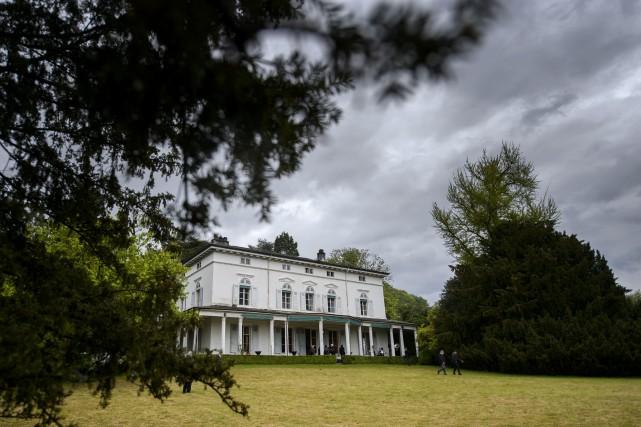 Le Manoir de Ban, dernière résidence de Charlie... (PHOTO AFP)
