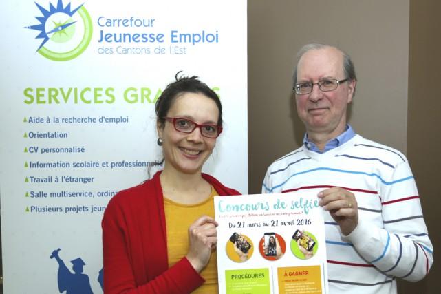 Ève Gamache, du CJE des Cantons-de-l'Est, souhaite rejoindre... (photo Catherine Trudeau)